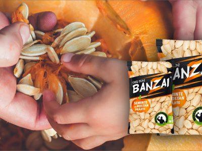 O punga de seminte de dovleac Banzai – beneficii pentru sanatatea ta